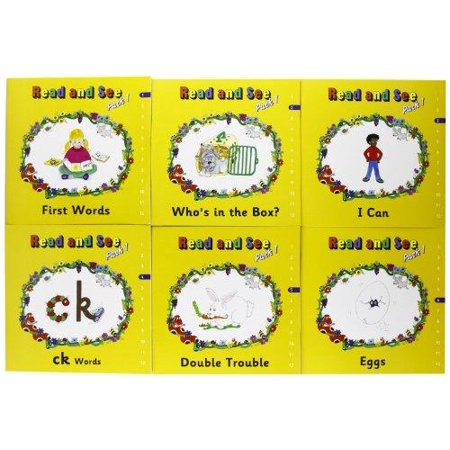 Jolly Phonics Read And See Pack 1  In Print Letters