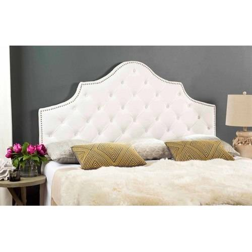 Safavieh Arebelle Headboard with Nailheads, Available Multiple Colors and Sizes by Safavieh