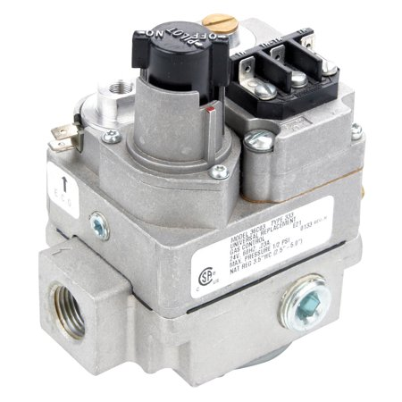 White-Rodgers 36C03-333 24 VAC Fast Open Standing Pilot Gas Valve 1/2 x 3/4 with Side Outlets and Pressure Tap Outlet