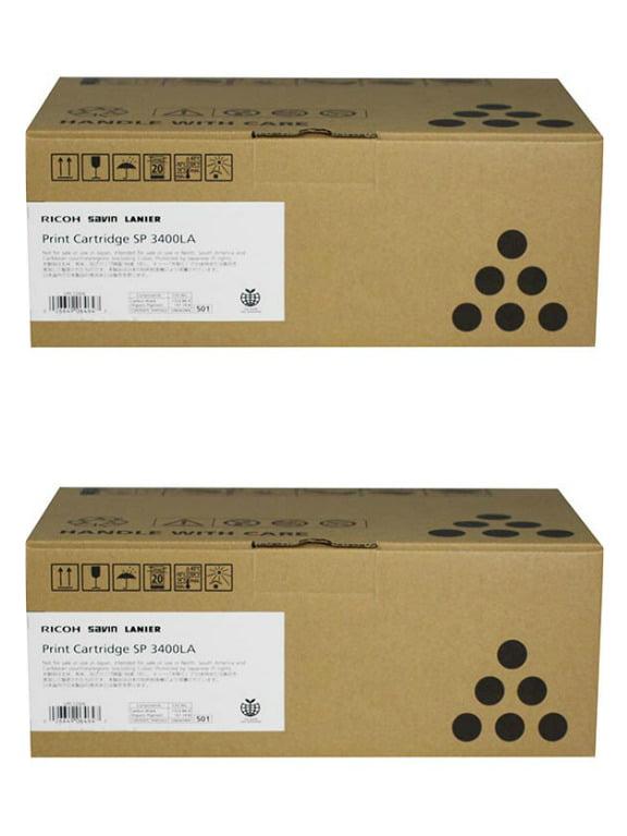Genuine Ricoh 406464 Type SP3400LA Black Toner Cartridge 2500 Page for SP 3510SF