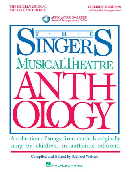 Singer's Musical Theatre Anthology by