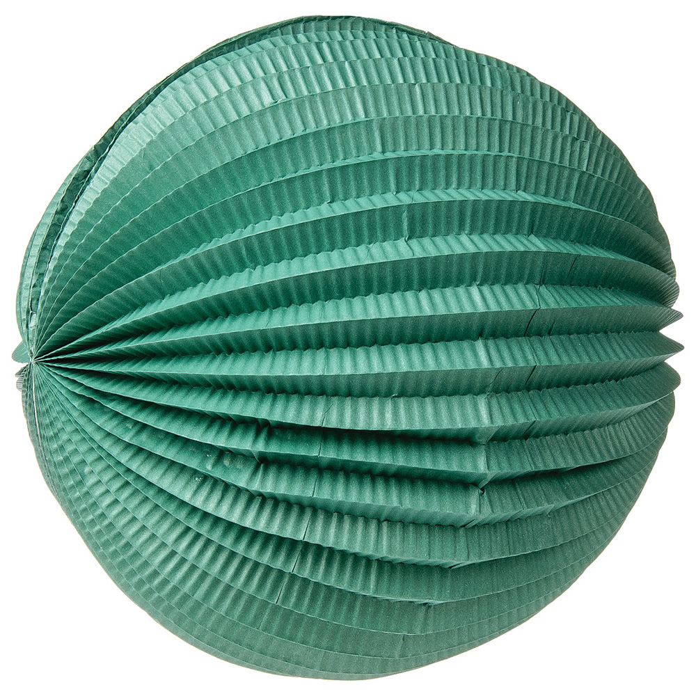 Accordion Paper Lantern (12-Inch, Teal) - Chinese/Japanese Hanging Decorations - For Home Decor, Parties, and Weddings