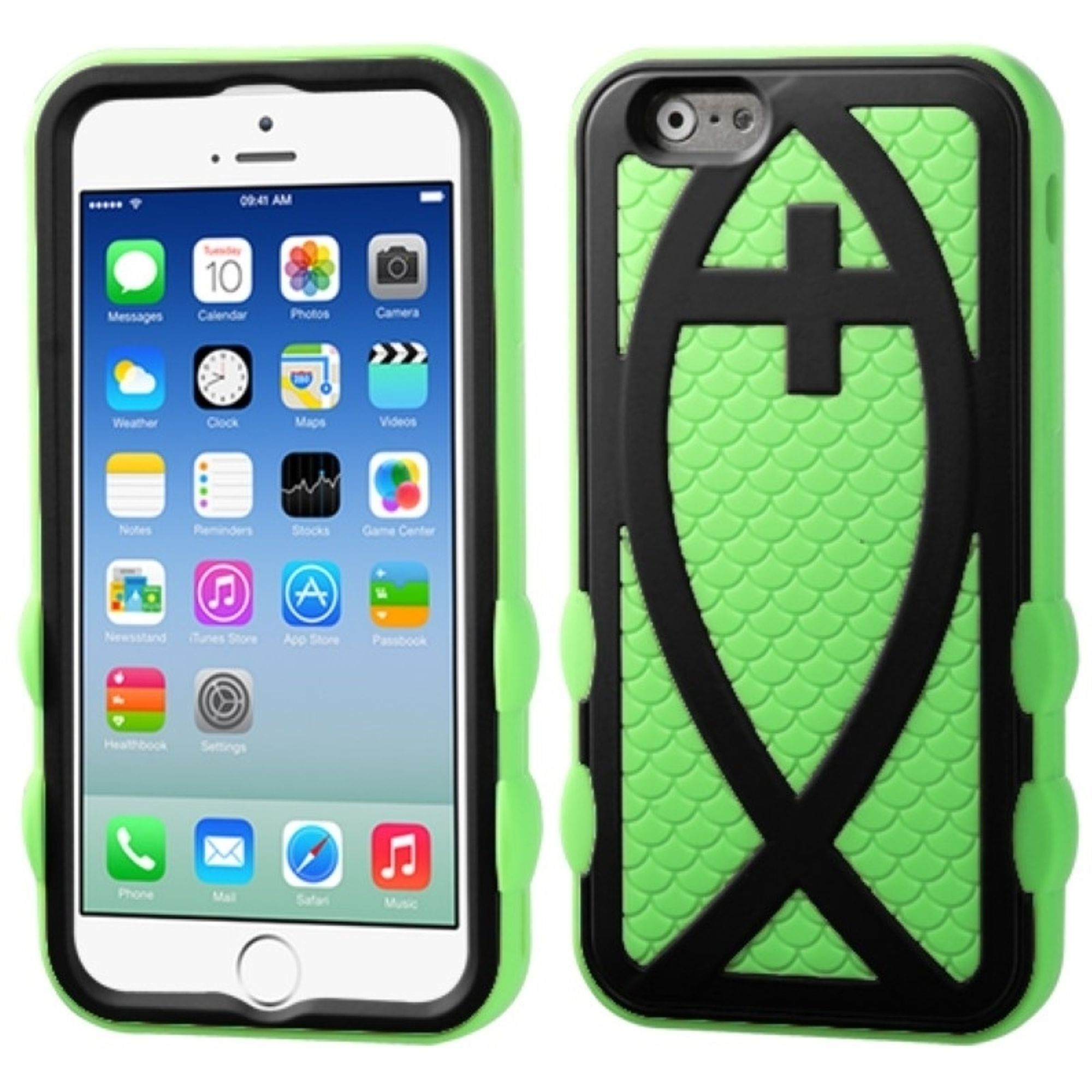 Insten Hard Dual Layer Silicone Case For iPhone 6S 6 4.7