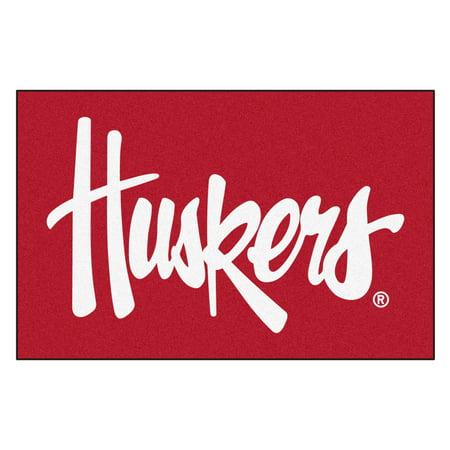 Nebraska Huskers Starter Rug 19
