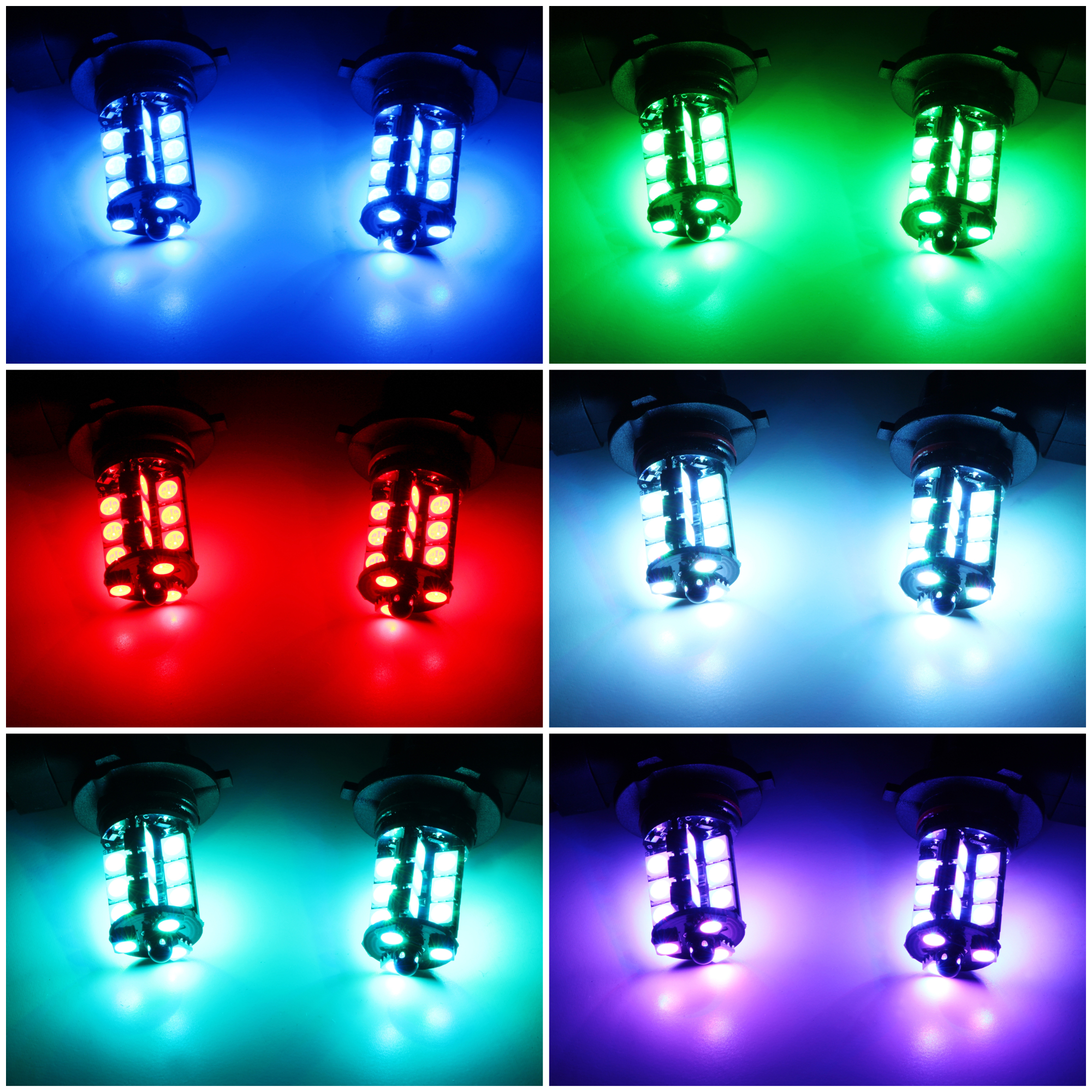 RGB LED Strips iJDMTOY 36W High Capacity 2-Output RGB Radio Frequency Wireless Remote Control w//Strobe Solid Lighting Features Compatible With RGB LED Applications Such As RGB Halo Rings etc