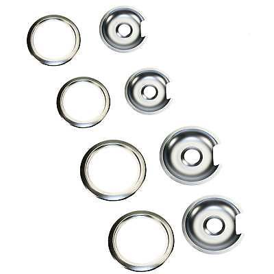 Supplying Demand 1056rge8 Chrome Drip Pan Amp Ring D Kit