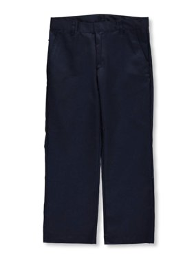 Galaxy Husky Boys School Uniforms Double Knee Pleated Pants (Husky)