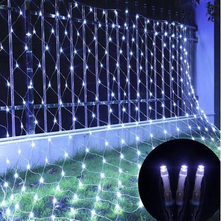 9.84*6.56ft 200LEDs LED Net Mesh String Light Outdoor Waterproof Chirstmas Wedding Party Holiday Decor White](Outdoor Wedding Decor)
