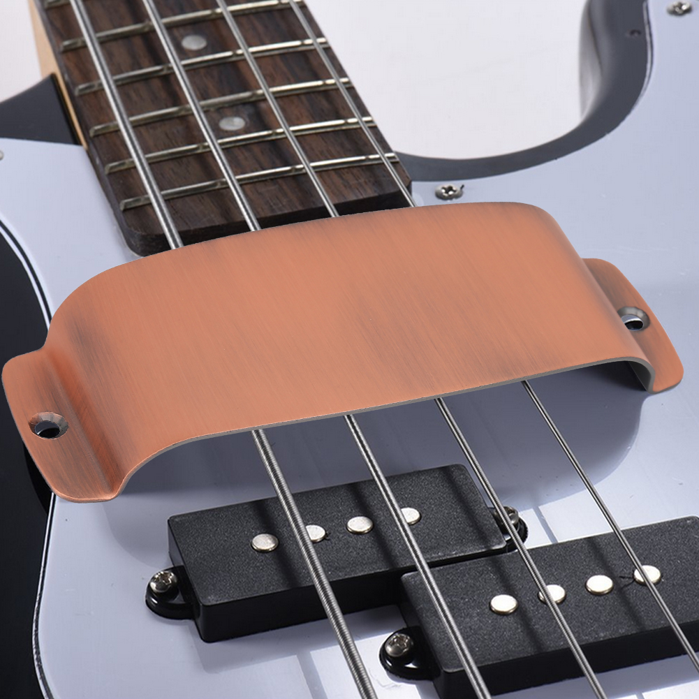 Yosoo 129 * 48.8 * 19mm Durable Alloy Pickup Cover Protector Replacement Part for Bass Guitar , Guitar Parts,Guitar Pickup Cover