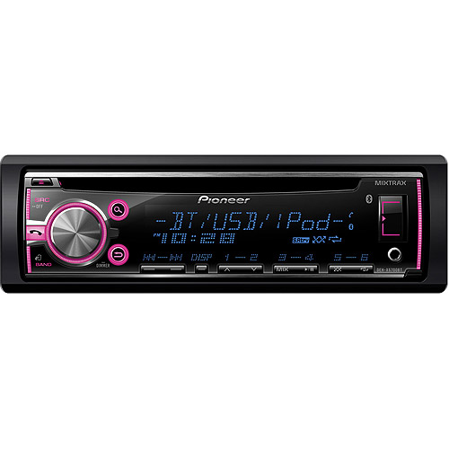 Pioneer DEH-X6700BT CD Receiver with MIXTRAX Technology and Built-in Bluetooth