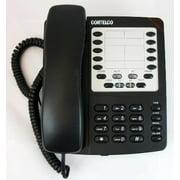 Cortelco Colleague Two-Line Speakerphone - 2 x Phone Line(s) - 1 x Data - Black