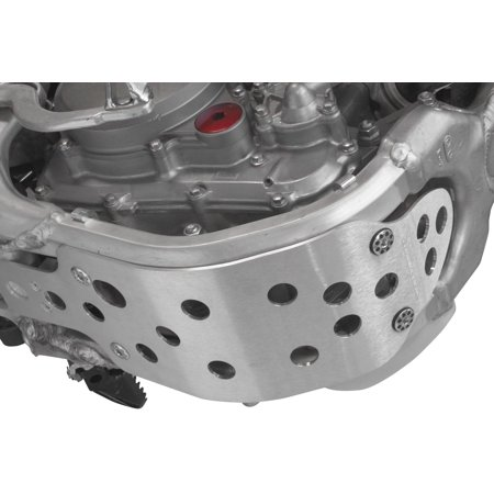 Works Connection 10-194 MX Skid Plate - Standard Coverage with (07 Works Connection Skid Plate)
