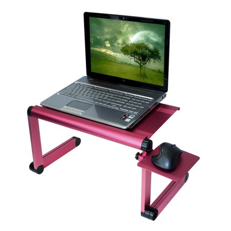 Furinno A6 Ergonomics Aluminum Vented Adjule Multi Functional Laptop Desk Portable Bed Tray