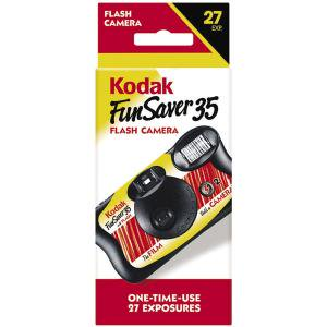 Kodak Fun Saver 35Mm Single Use Camera With Flash - 1