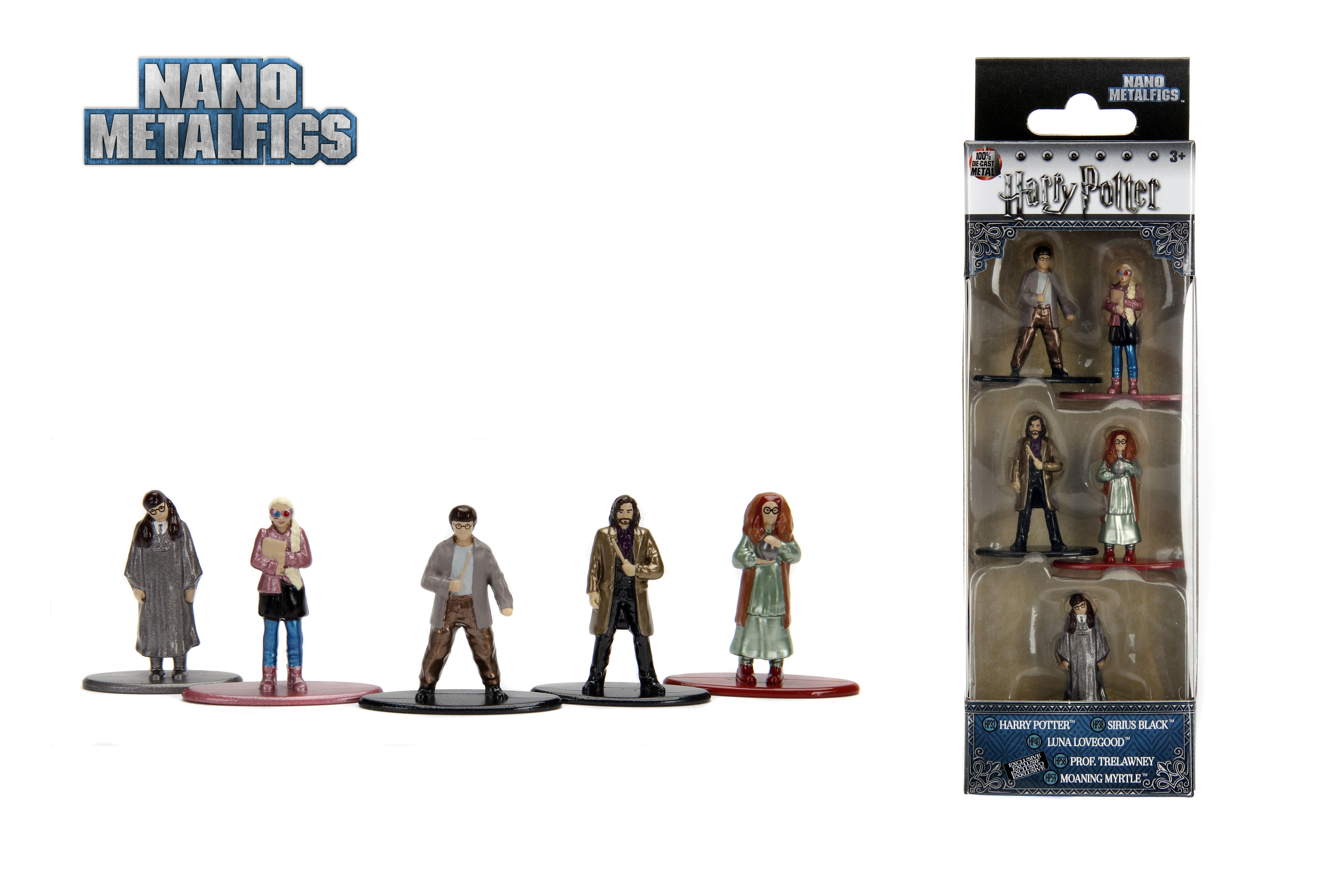 Nano metalfigs Marvel Spider-Man pack 5 die cast figures Jada Toys Pack B-New in Box