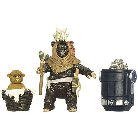 Leektar & Nippet Ewoks Action Figure 2-Pack First Day of Issue