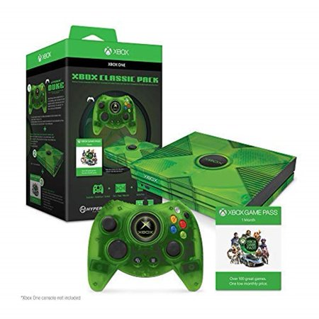 Hyperkin M07374 Xbox Classic Pack for Xbox One X Collector's Edition (Green Lantern Video Game Xbox)
