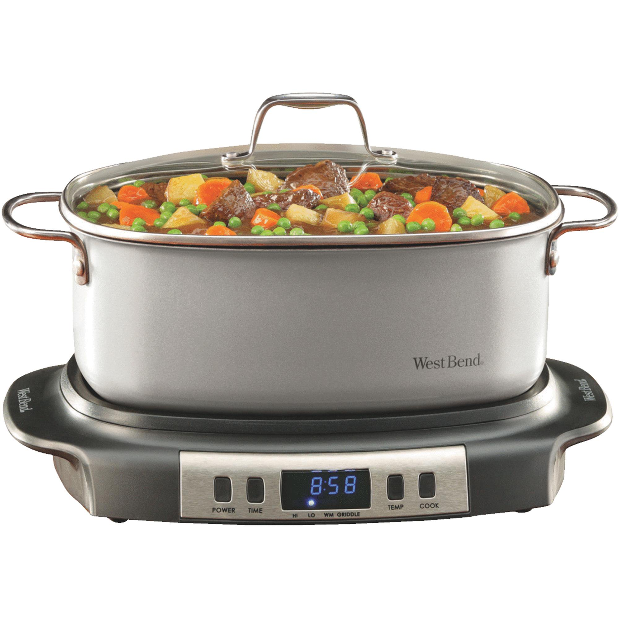 West Bend Electronic Versatility 6-QT Slow Cooker