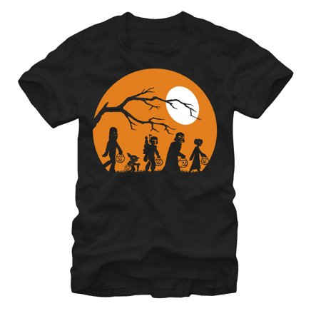 Star Wars Men's Halloween Characters Trick or Treat (Halloween Shirts)