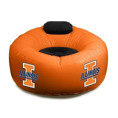 Illinois Illini Large Inflatable Air CHAIR w/Pump Illinois Fighting Illini Pool