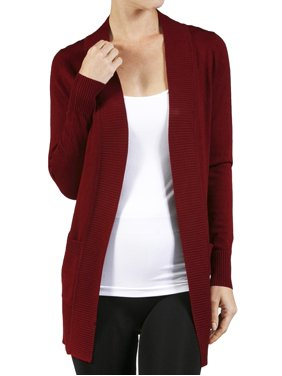 Product Image Women s Long Sleeve Knit Rib Open Front Solid Sweater Cardigan-Plus  Size Available (FAST 507b5ba87