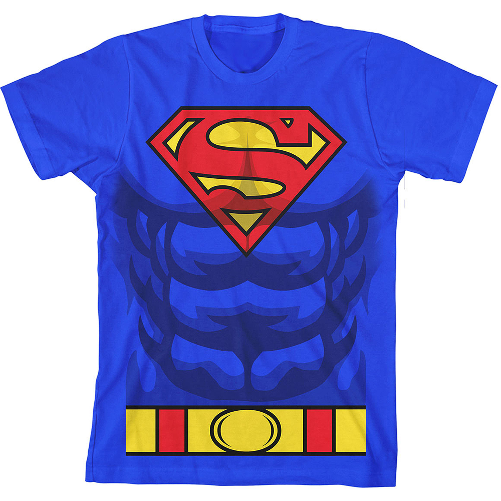 DC Comics Superman Costume Boys Graphic Tee