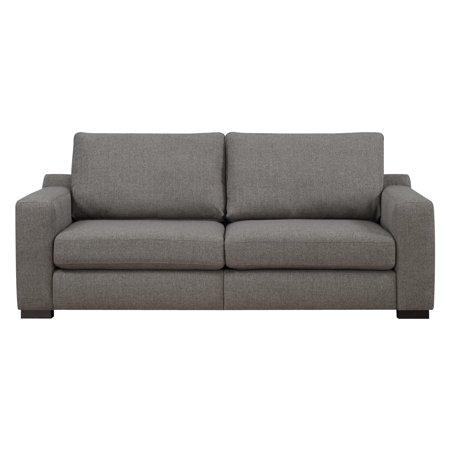 Serta  Deep Seating Geneva 85-inch Grey Sofa
