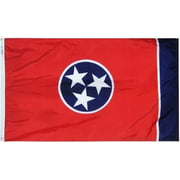 3x5' Tennessee Heavy Weight Nylon Flag From All Star Flags