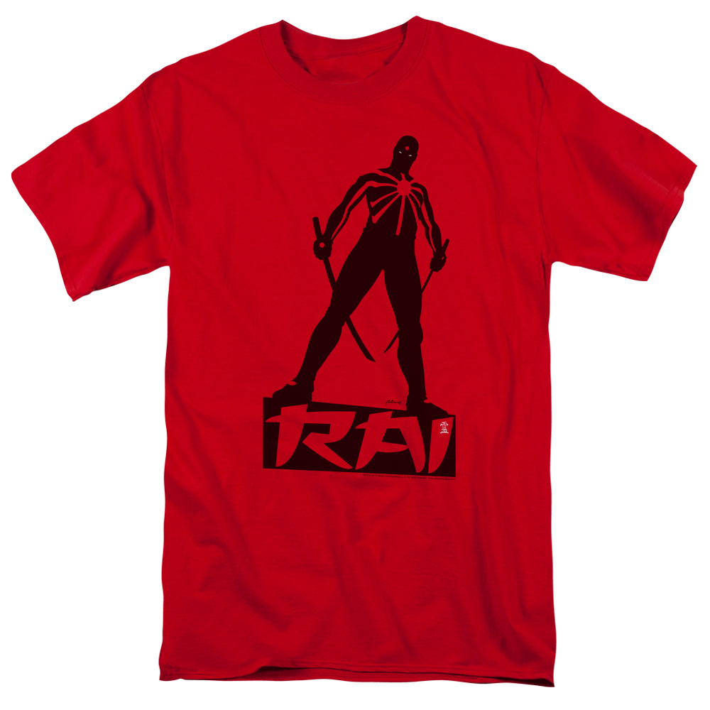Rai/Silhouette S/S Adult 18/1 Red   Val169