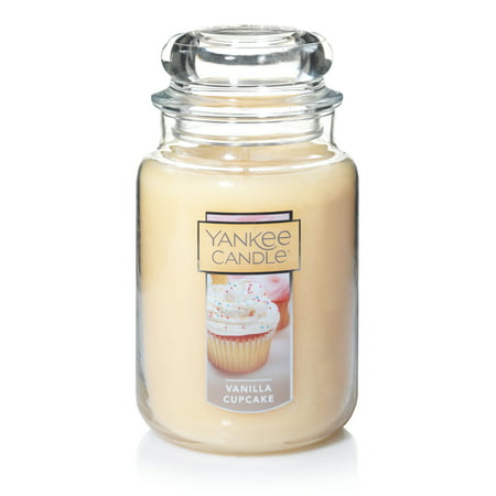 Yankee Candle Vanilla Cupcake - Original Large Jar Scented Candle