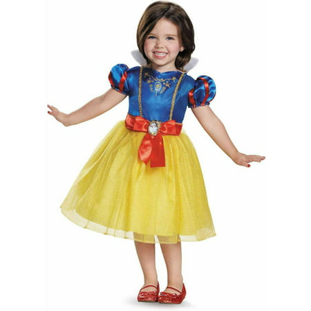 Disney Princess Snow White Classic Toddler Halloween Costume - Family Halloween Costume Ideas Disney