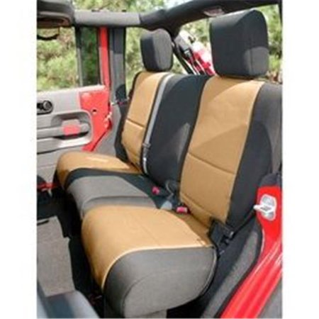 Neoprene Rear Seat Cover, 07-14 Jeep Wrangler Unlimited JK - image 1 of 1