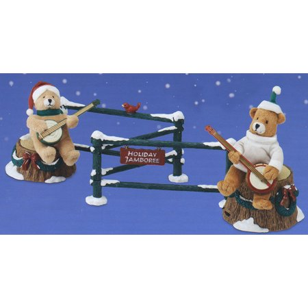 Mr. Christmas Animated Musical Dueling Banjo Bears Decoration #77581 ()