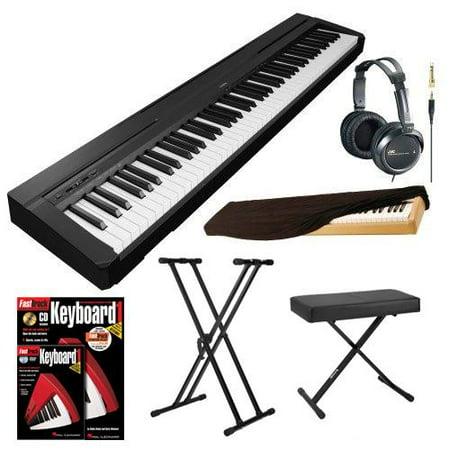 yamaha 88 key keyboard. yamaha p series p35b 88-key digital piano (black) plus accessory bundle 88 key keyboard