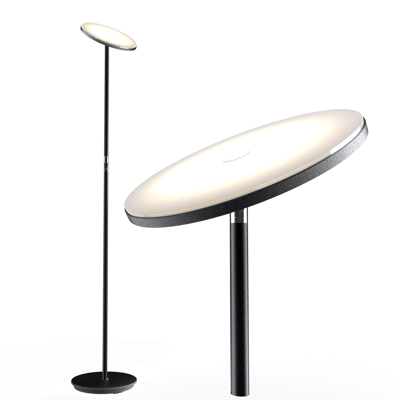 Nekteck LED Floor Lamp, Bright Lighting Torchiere Floor ...