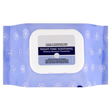 Equate Beauty Night Time Soothing Makeup Remover Towelettes  40 Ct