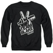 The Voice Blake Logo Mens Crewneck Sweatshirt