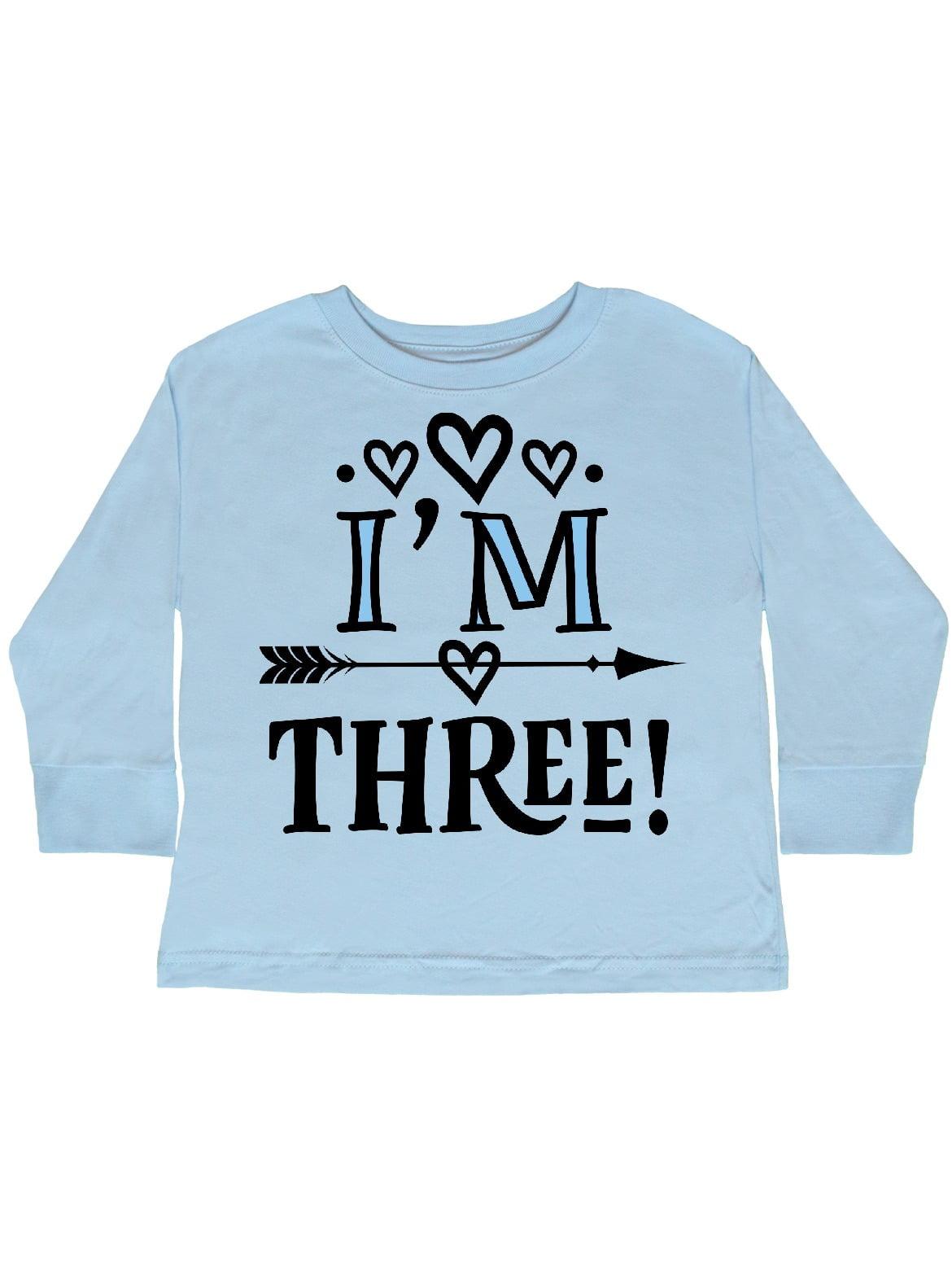 inktastic Third Birthday Mermaid Toddler Long Sleeve T-Shirt