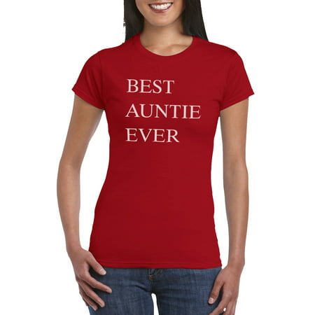 Best Auntie Ever BAE T Shirt Gift Idea For Women