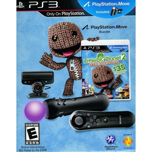 Sony LittleBigPlanet 2 Special Edition Move Bundle - Play...