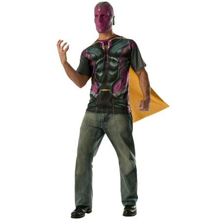 Vision T-Shirt Adult Costume - Vision Costume