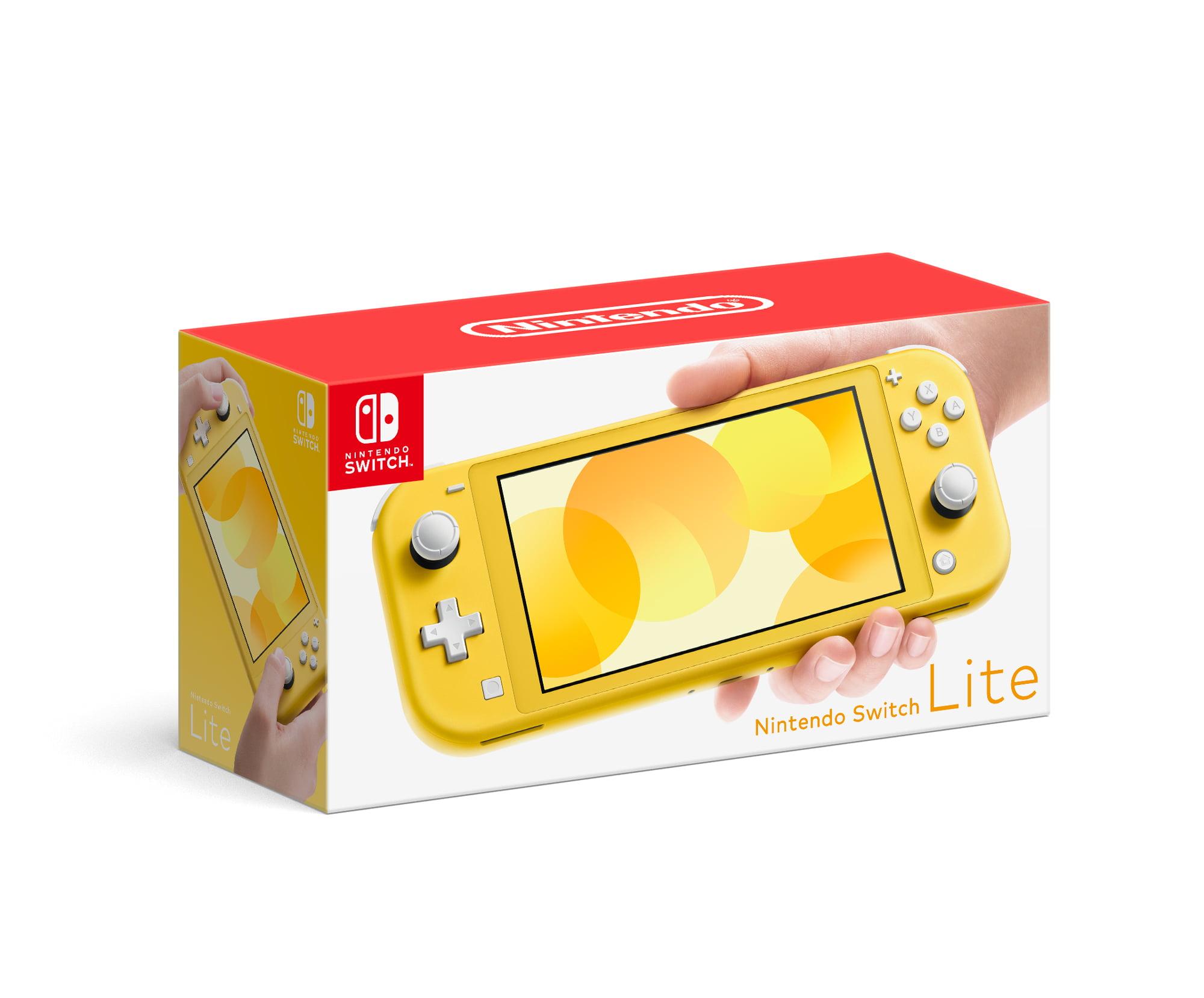 Nintendo Switch Lite Console Yellow Walmart Com Walmart Com