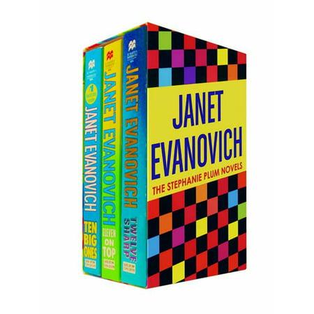 Janet Evanovich Boxed Set 4 (10, 11, 12) : Ten Big Ones, Eleven on Top, and Twelve Sharp
