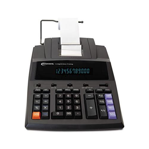 Innovera 15990 Two-Color Printing Calculator IVR15990