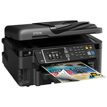 Epson Workforce 3620 Wireless All In One Inkjet Printer  Copy Fax Print Scan