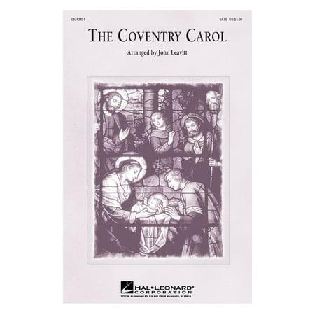 Hal Leonard The Coventry Carol SATB arranged by John Leavitt