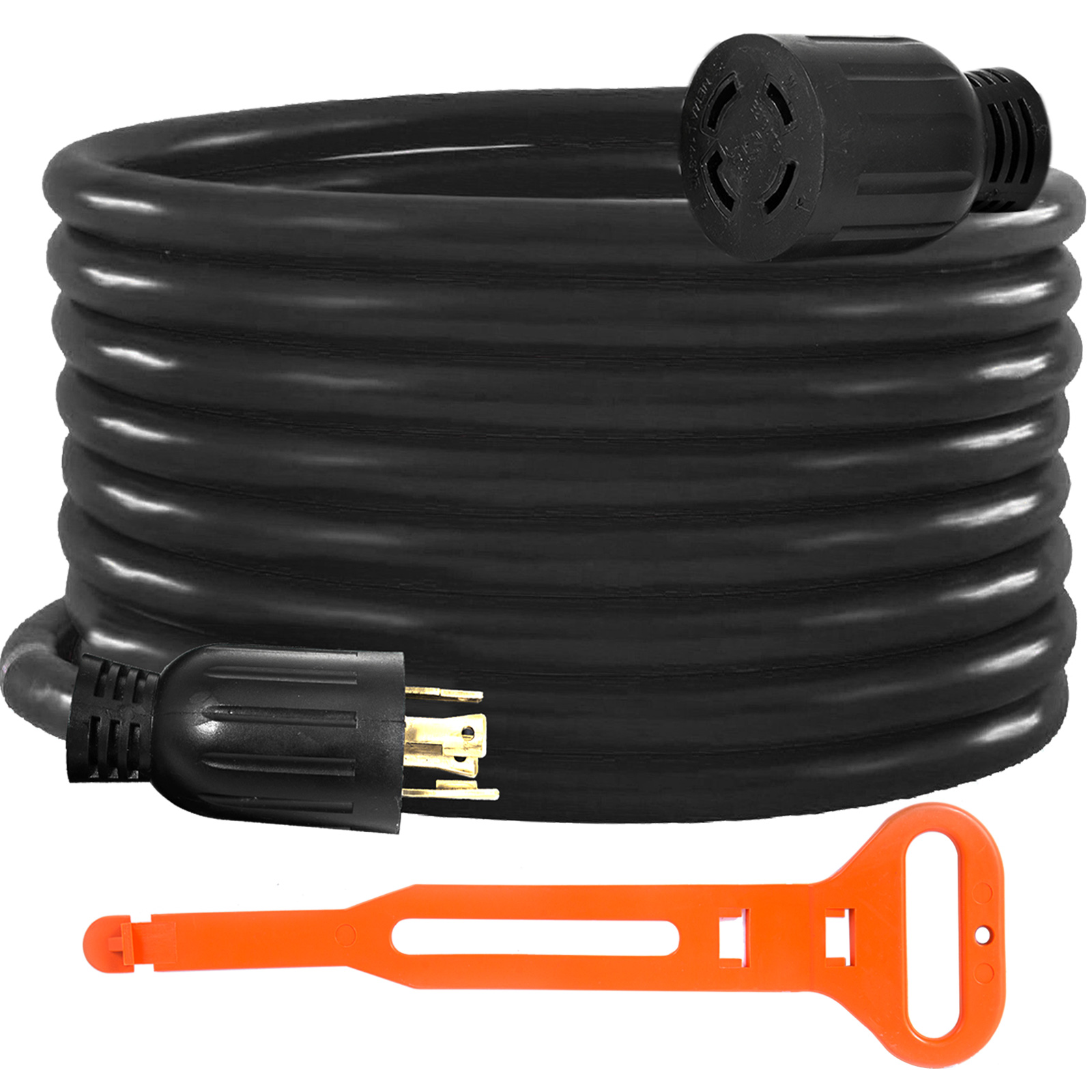 10FT Generator Extension Cord 50Amp 125//250V 14-50P to CS6364 Locking Connector
