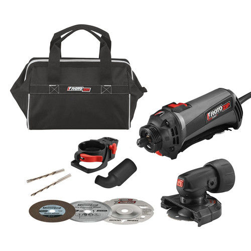 Factory-Reconditioned RotoZip SS560VSC-50-RT 120V Variable-Speed RotoSaw Plus Spiral Saw Kit (Refurbished)