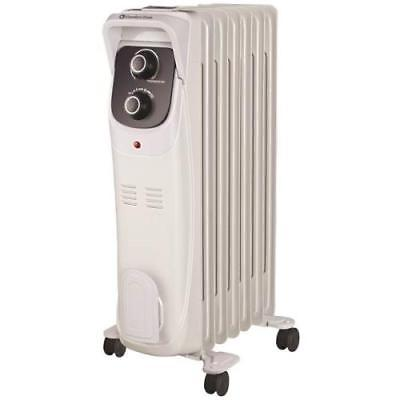 Comfort Zone Deluxe Oil Filled Heater White
