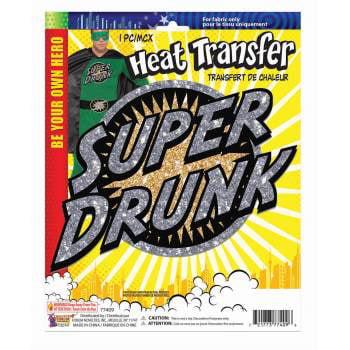 HEAT TRANSFERS - SUPER DRUNK 12 - Meme Halloween Drunk